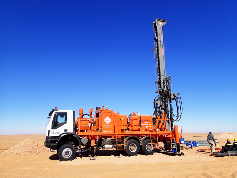 borehole driling services in motion
